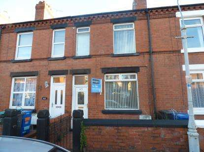2 Bedrooms Terraced House for sale in Hampden Road, Wrexham, Wrecsam, LL13