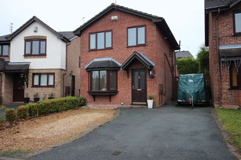 3 Bedrooms Detached House for sale in Swift Drive, Biddulph
