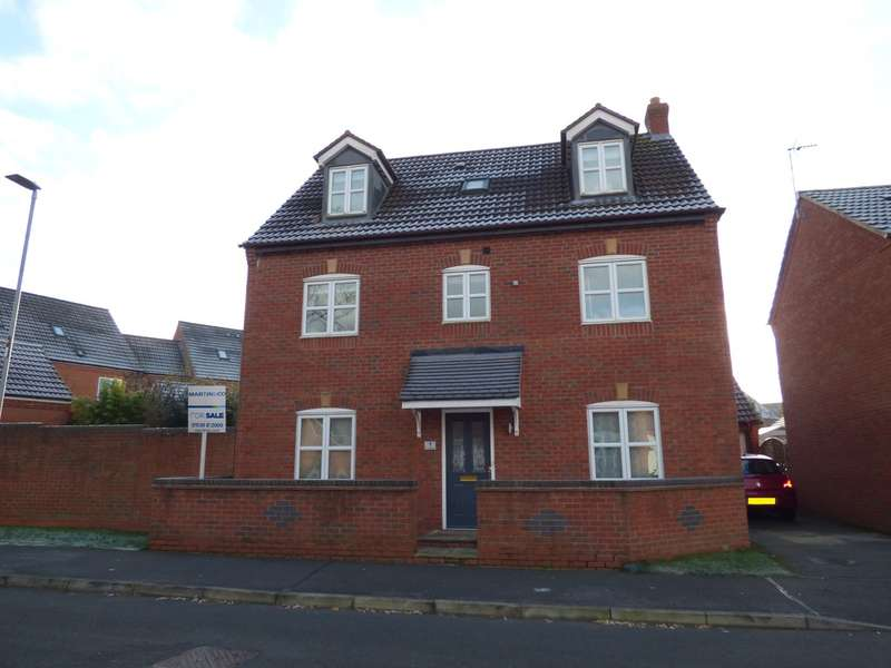 5 Bedrooms Detached House for sale in Hawthorne Road, Bagworth