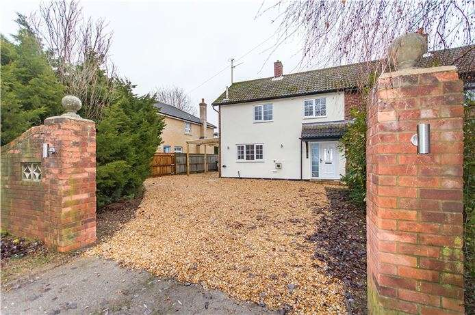 3 Bedrooms Semi Detached House for sale in Cambridge Road, Wimpole, Cambridge