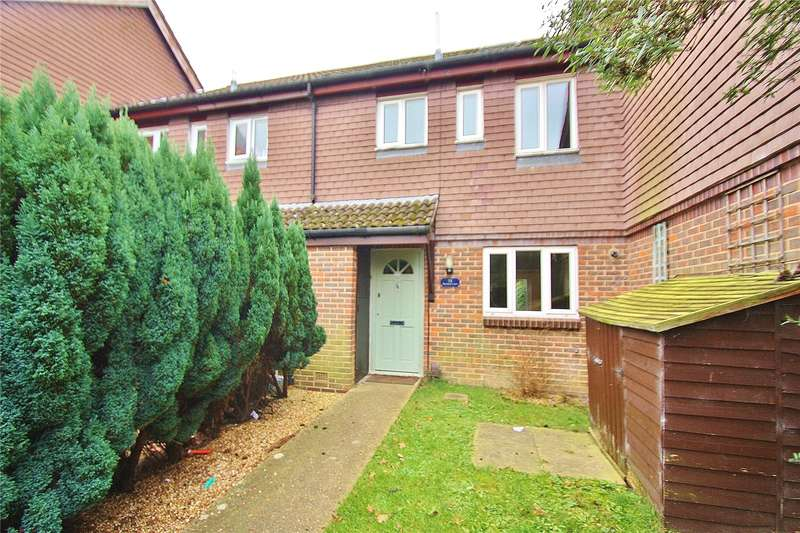 4 Bedrooms Terraced House for sale in Barnard Court, Woking, Surrey, GU21