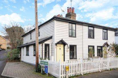 2 Bedrooms End Of Terrace House for sale in Holmwood Cottages, Rushmore Hill, Orpington