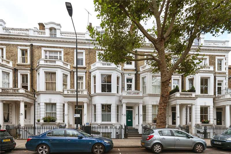 3 Bedrooms Maisonette Flat for sale in Marloes Road, London, W8