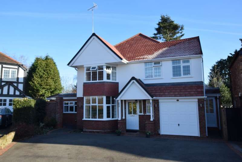 4 Bedrooms Detached House for sale in Rectory Gardens, Solihull