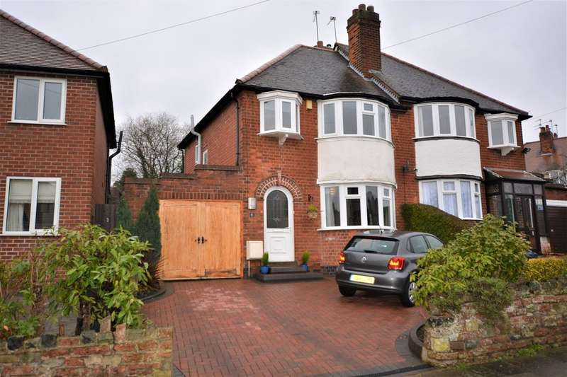 3 Bedrooms Semi Detached House for sale in Harts Green Road, Harborne