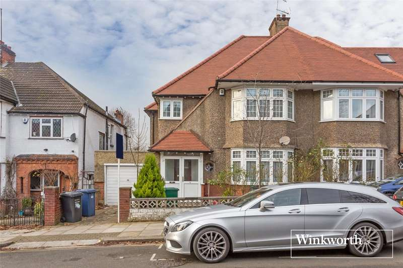 5 Bedrooms Semi Detached House for sale in Avondale Avenue, Woodside Park, London, N12
