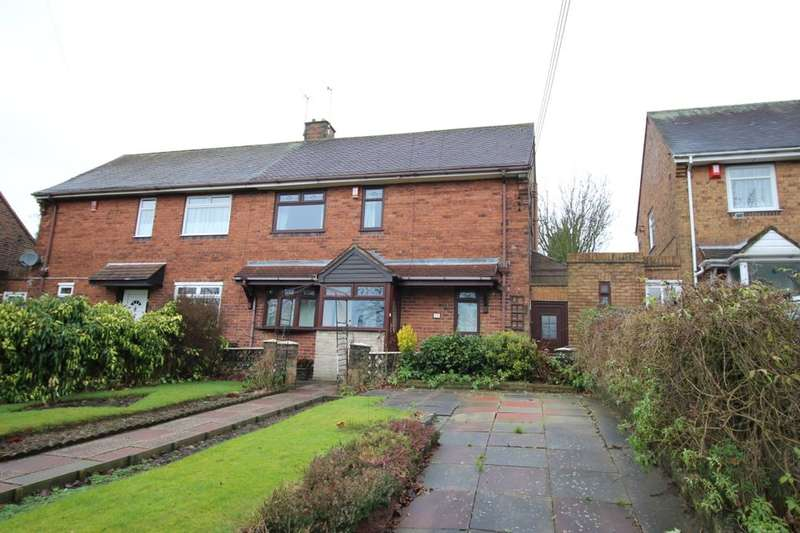 3 Bedrooms Semi Detached House for sale in Sprinkbank Road, Chell, Stoke-On-Trent, ST6