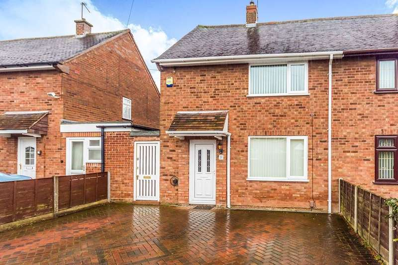 2 Bedrooms Semi Detached House for sale in Gadsby Avenue, Wolverhampton, WV11