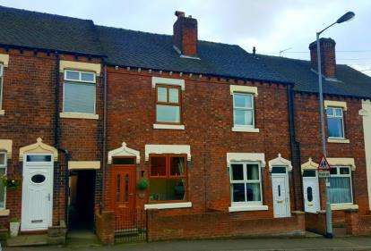 3 Bedrooms Terraced House for sale in High Street, Halmer End, Stoke-On-Trent, Staffordshire