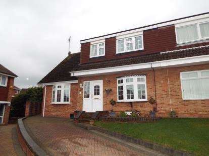 3 Bedrooms Semi Detached House for sale in Eversley, Pitsea, Essex