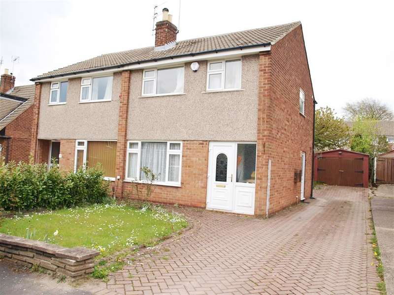 3 Bedrooms Semi Detached House for sale in Linton Crescent, Shadwell, Leeds, LS17 8PY