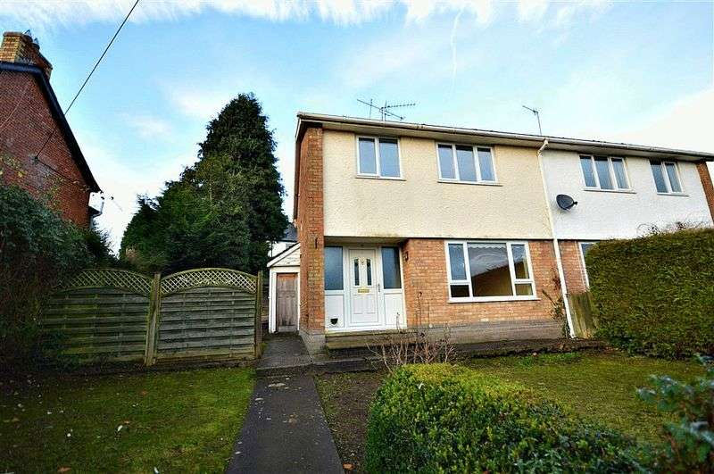 3 Bedrooms Semi Detached House for sale in Brynhyfryd Close, Pontypool