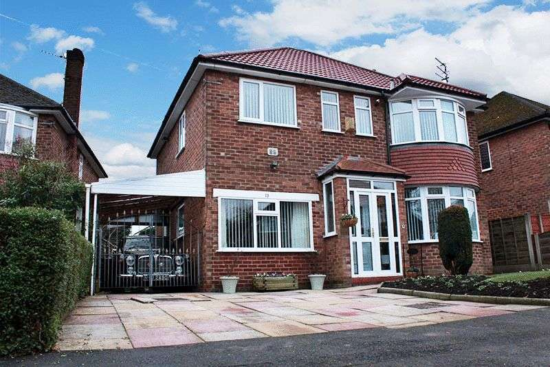 4 Bedrooms Detached House for sale in Lancelot Road, Peel Hall, Manchester