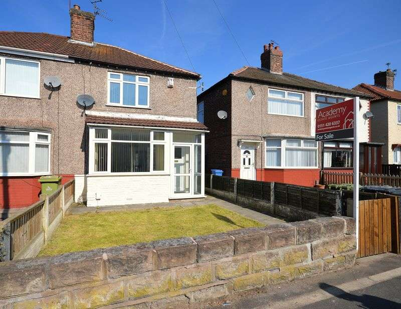 2 Bedrooms Semi Detached House for sale in Hale Road, Widnes