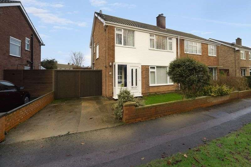 3 Bedrooms Semi Detached House for sale in Pear Tree View, Elstow, Bedford