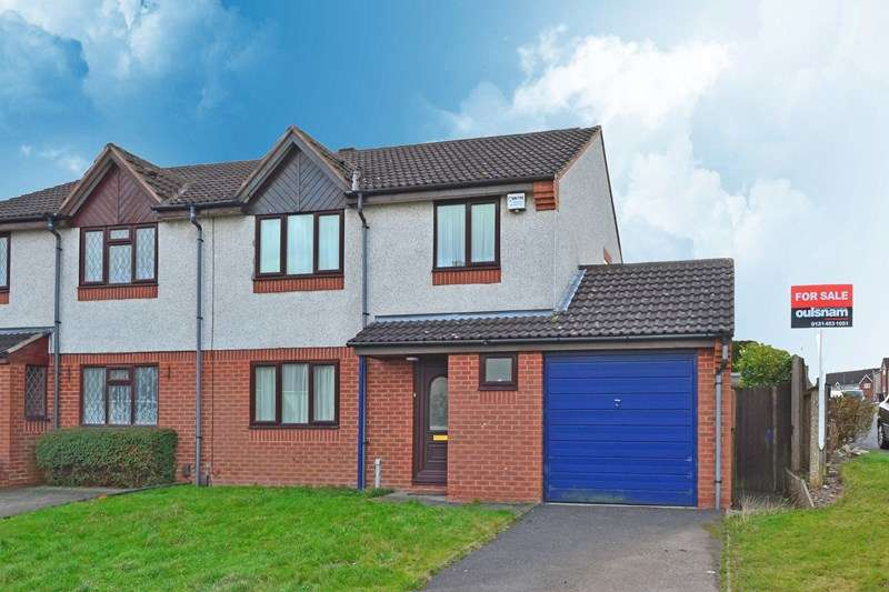 3 Bedrooms Semi Detached House for sale in Stonecroft Avenue, Rednal, Birmingham