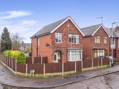 3 Bedrooms Detached House for sale in Coronation Road, Hucknall, Nottingham, Nottinghamshire