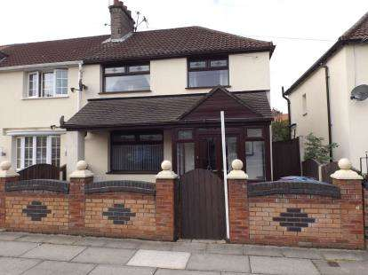 3 Bedrooms End Of Terrace House for sale in Hurlingham Road, Walton, Liverpool, Merseyside, L4