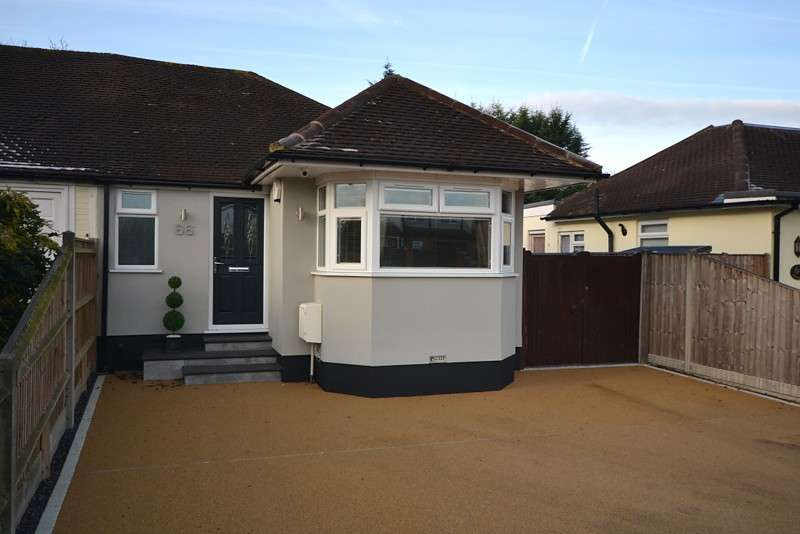 2 Bedrooms Semi Detached Bungalow for sale in Chertsey