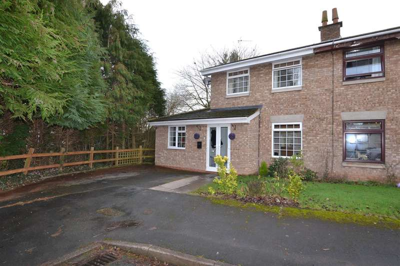 3 Bedrooms Semi Detached House for sale in St Lawrence Way, Gnosall, Stafford