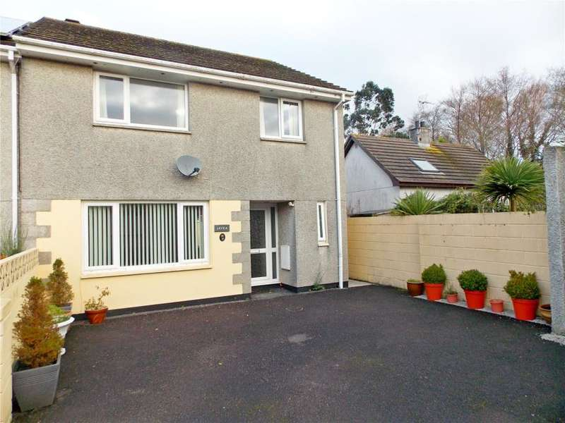 4 Bedrooms Semi Detached House for sale in Crun Melyn Parc, Hayle, Cornwall