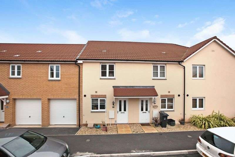 2 Bedrooms Terraced House for sale in Romney Road, Stockmoor, Bridgwater