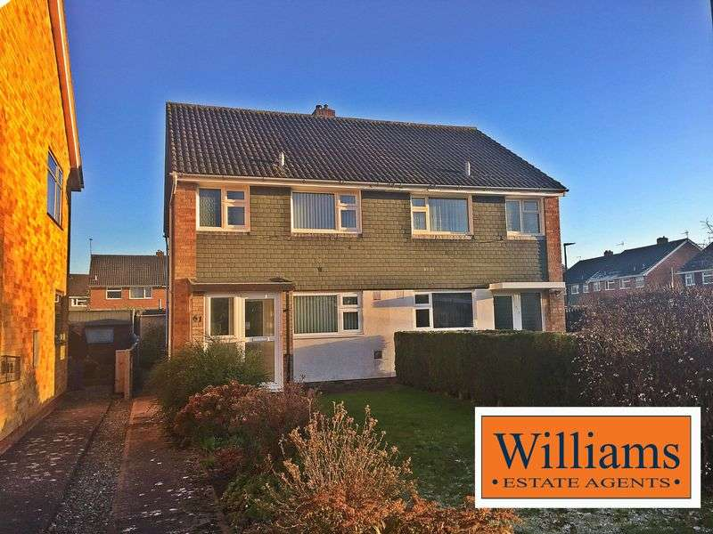 3 Bedrooms Semi Detached House for sale in Coniston Walk, Hereford