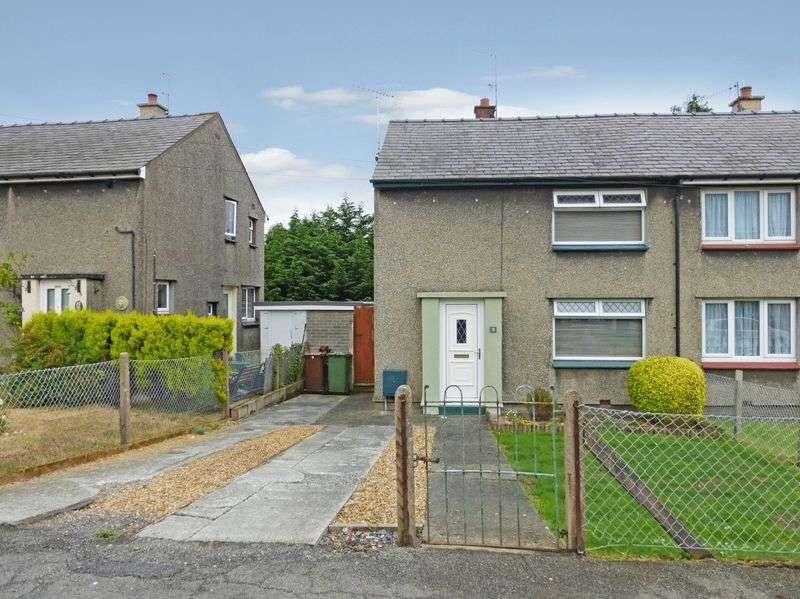 2 Bedrooms Semi Detached House for sale in Bangor