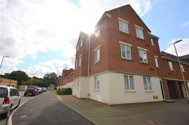 2 Bedrooms Flat for sale in Powlesland Road, Alphington, Exeter, Devon
