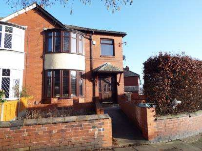 3 Bedrooms Semi Detached House for sale in Rishton Lane, Bolton, Greater Manchester, BL3