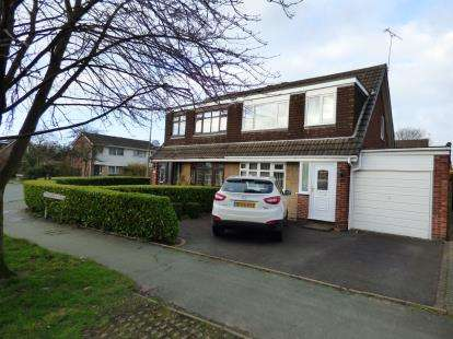 3 Bedrooms Semi Detached House for sale in Cranberry Lane, Alsager, Stoke-On-Trent, Cheshire
