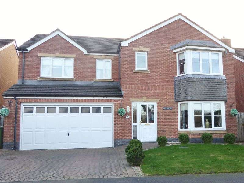 5 Bedrooms Detached House for sale in Abbots Way, Ballasalla