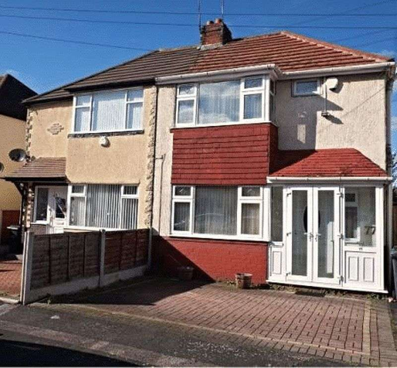 3 Bedrooms Semi Detached House for sale in Griffiths Road, West Bromwich