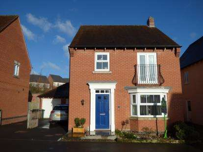 4 Bedrooms Detached House for sale in Greenmount Street, Church Gresley, Swadlincote, Derbyshire