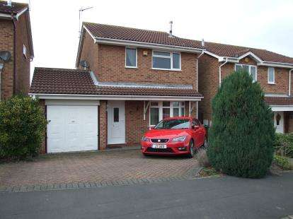 3 Bedrooms Detached House for sale in Countrymans Way, Shepshed, Loughborough, Leicestershire