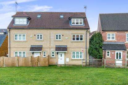 4 Bedrooms Semi Detached House for sale in Blisworth Close, Northampton, Northamptonshire, Northants