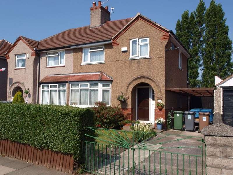 3 Bedrooms Semi Detached House for sale in Bebington Road, Rock Ferry