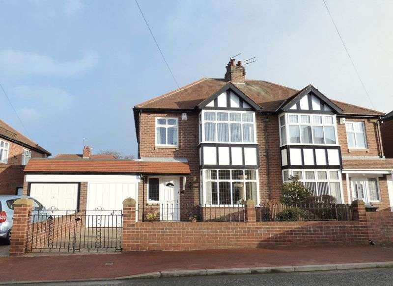 3 Bedrooms Semi Detached House for sale in The Wynd, Gosforth, Newcastle Upon Tyne