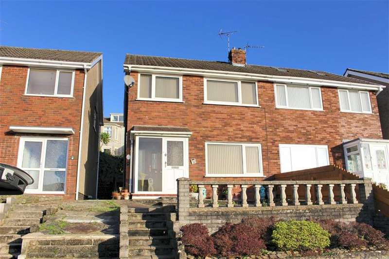 3 Bedrooms Semi Detached House for sale in Brynmead Close, Sketty
