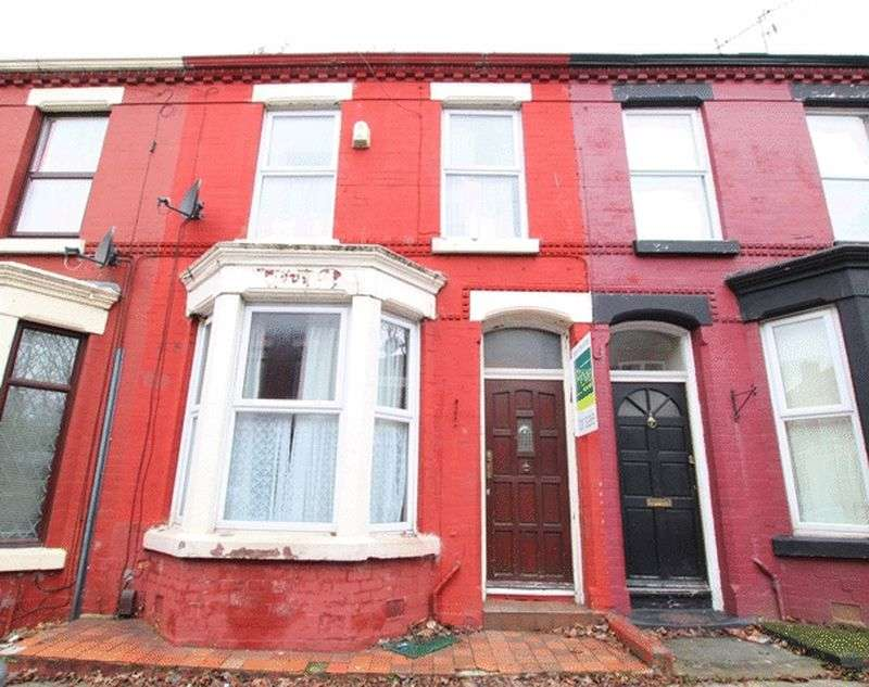3 Bedrooms Terraced House for sale in Tiverton Street, Wavertree, Liverpool, L15