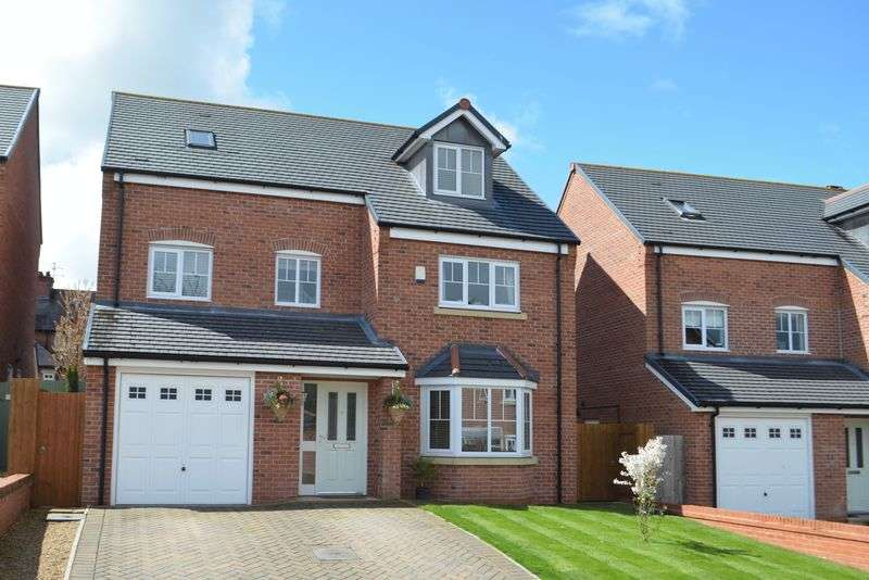 5 Bedrooms Detached House for sale in St. George's Rise, Malpas