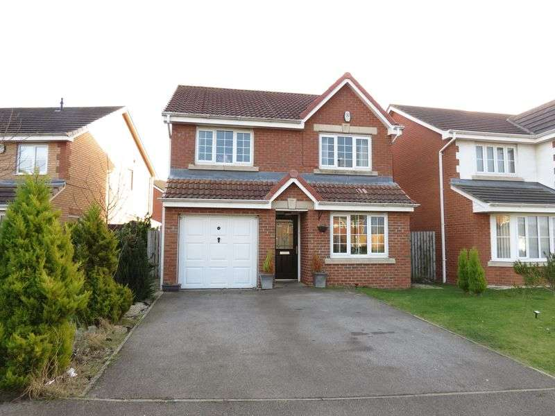 4 Bedrooms Detached House for sale in Abbeydale Gardens, South Hetton, Durham