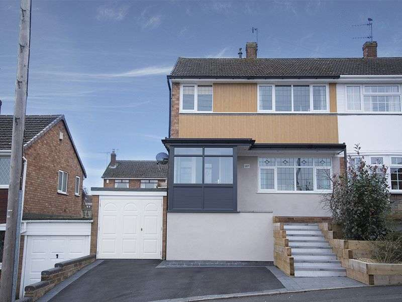3 Bedrooms Semi Detached House for sale in Arundel Road, Wordsley