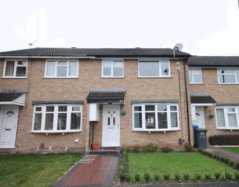 3 Bedrooms Terraced House for sale in UNDERHILL CLOSE, DERBY