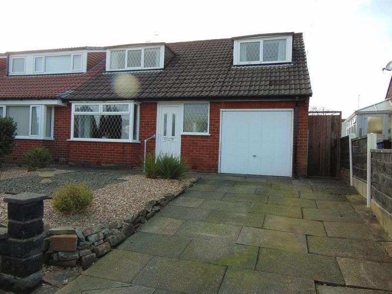 3 Bedrooms Semi Detached House for sale in Lyons Drive, Seddons Farm, Bury