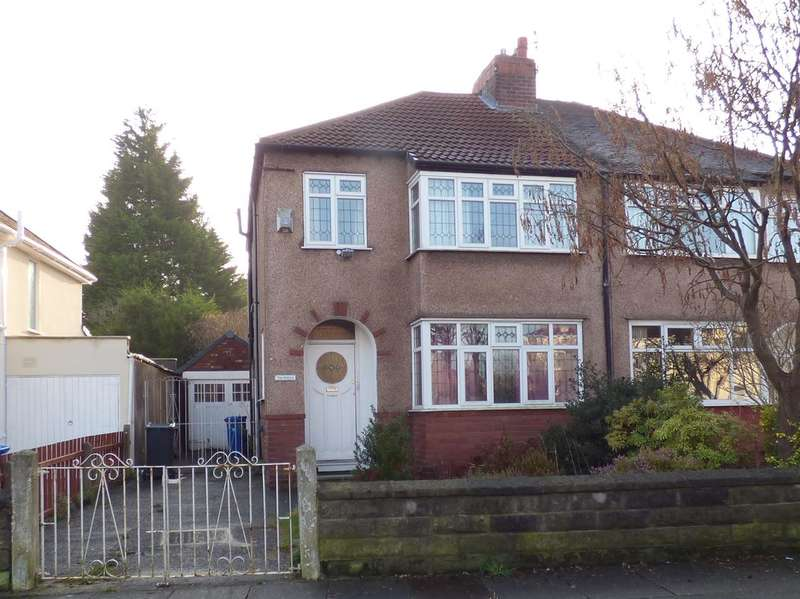 3 Bedrooms Semi Detached House for sale in Swanside Road, Broadgreen, Liverpool