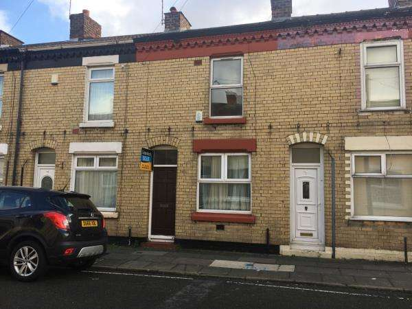 2 Bedrooms Terraced House for sale in 75 WHITTIER STREET, LIVERPOOL
