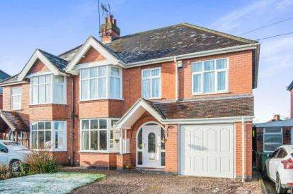 4 Bedrooms Semi Detached House for sale in Mancetter Road, Atherstone, Warwickshire