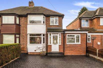 4 Bedrooms Semi Detached House for sale in Bilton Grange Road, Birmingham, West Midlands, Na