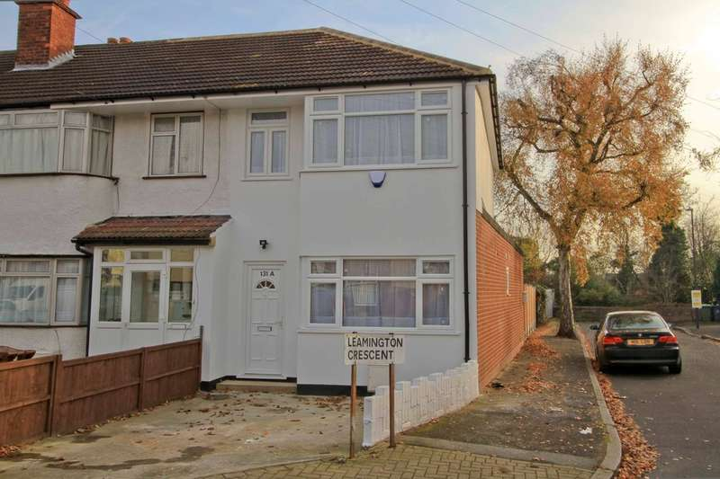 3 Bedrooms End Of Terrace House for sale in Leamington Crescent, Harrow